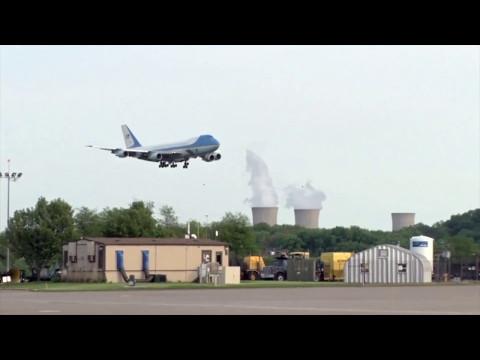 Air Force One Landing Harrisburg Airport