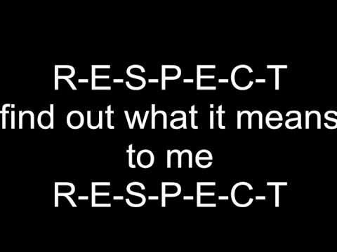 Aretha Franklin - Respect lyrics