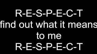 Aretha Franklin Respect lyrics