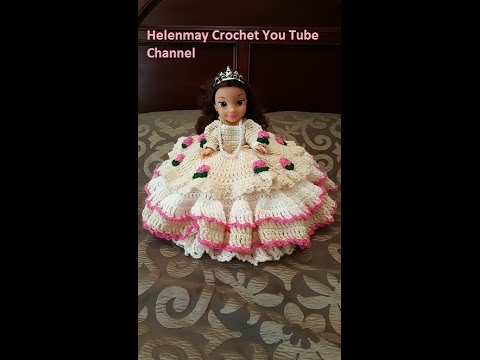 Crochet Bed Doll Pillow Diy Tutorial Youtube