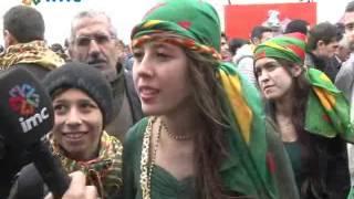 Diyarbakır'daki Newroz'dan renkli görüntüler