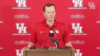 Major Applewhite Weekly Press Conference (10.01.18)