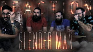 SLENDER MAN - Official Trailer REACTION!!