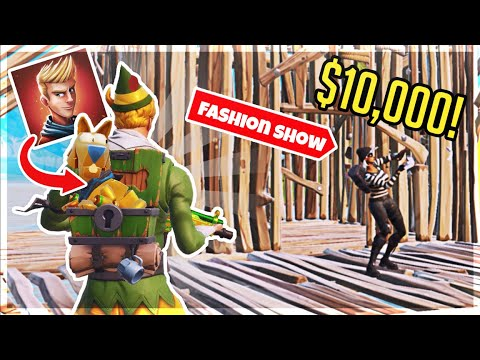 I WON LACHLAN'S 10,000$ FORTNITE FASHION WORLD CUP QUALIFIER