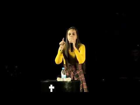 Pregação forte Dessa jovem