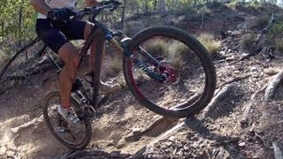 How to climb roots on a mountain bike in 3 easy steps