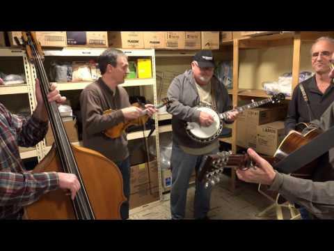 High Lonesome Strings Jam - Little Maggie
