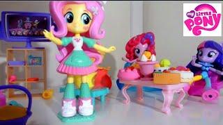 💖🎁👍My Little Pony MLP EG 🎉🎊💜💕New Праздник у Флаттершай💖💝 Прикол черепаха💙💚💛
