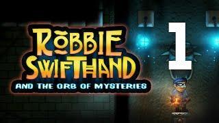Robbie Swifthand and the Orb of Mysteries — Platformówka 2d - Na żywo