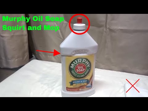 ✅  How To Use Murphy Oil Soap Squirt and Mop Review