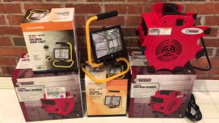 Harbor Freight blower and light haul