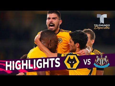 Wolverhampton vs. Newcastle United: 1-1 Goals & Highlights   Premier League   Telemundo Deportes