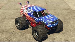 كيف تجيب سيارة الوحش في قراند how to get monster car in gta 5