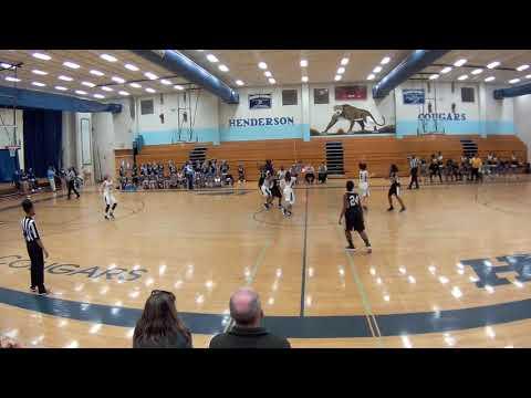Henderson vs Lithonia Middle School Girls Q1 PLAYOFF 2018 0131 171638 001