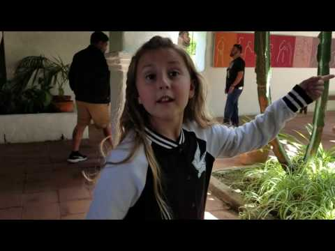Haley's trip to Mission San Diego De Alcala