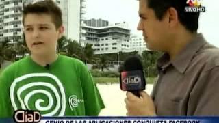 Michael Sayman, el peruano que va a la conquista de Facebook