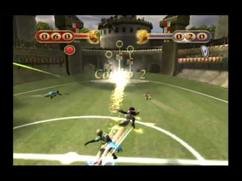 10Minute Gameplay  Harry Potter: Quidditch World Cup GameCube