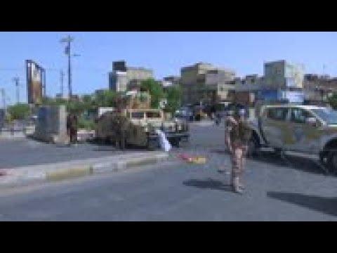 Iraq authorities continue to enforce virus lockdown