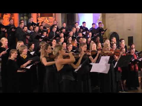 Choir of the University of Luxembourg, Gaudeamus and Pro Musica choirs Vilnius 27 10 2017