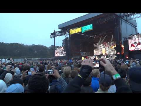 Metalica - Hit The Lights - opening Outside Lands