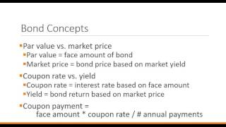 Financial Institutions and Markets:  Capital markets - bonds 1