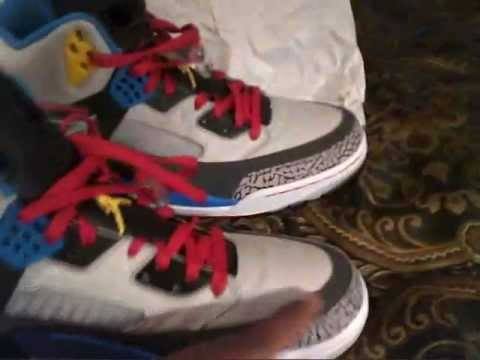 buy popular 9645f c0b7f Jordan Spizike Bordeaux Unboxing and Review