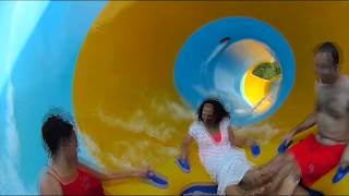 POV Ride Video of Colossal Curl At Water Country USA