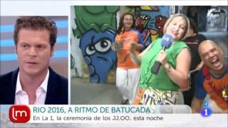 Percuta carnevale y los juegos olimpicos de Rio 2016 - TVE