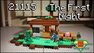 Lego Minecraft 21115 The First Night Review