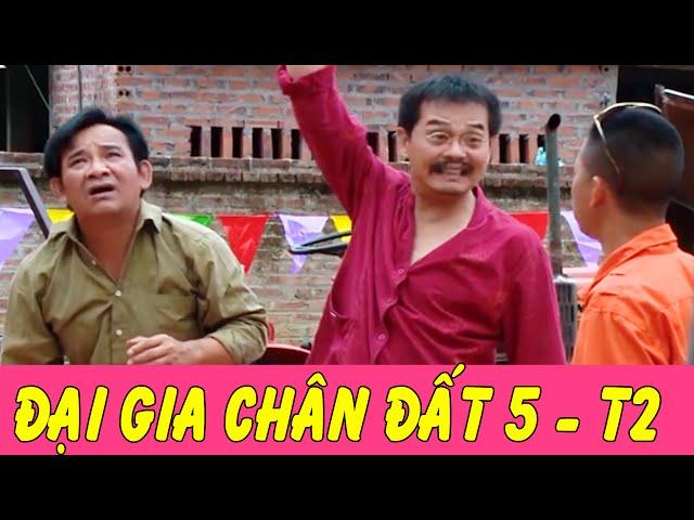Phim Hài Tết   Đại Gia Chân Đất 5 - Tập 2   Trung Hiếu , Bình Trọng , Quang Tèo
