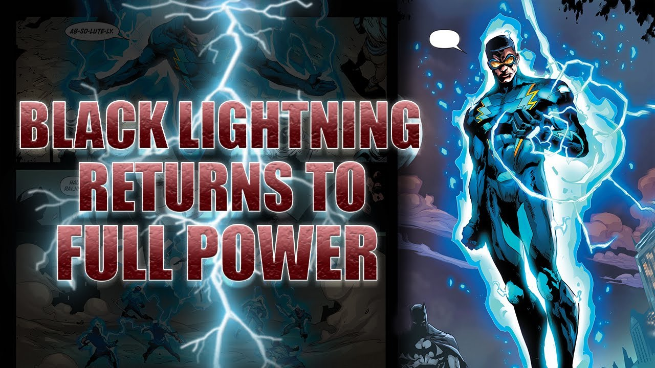 Black Lightning Finally Returns to Full Power, BUT At What Cost?