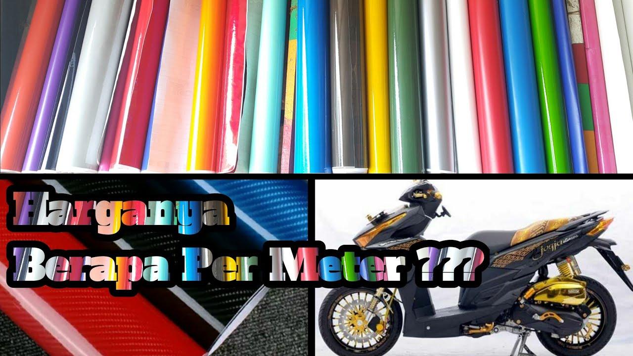 Daftar Harga Skotlet Per Meter Dan Harga Pasang Block Body Motor Dan Mobil Youtube