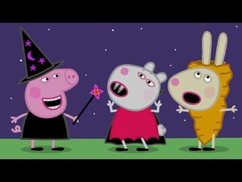 Peppa Pig en Español 🎃 Disfraces de Halloween 🎃 Episodios completos   Dibujos Animados