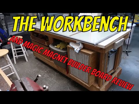 EP14: The Scratch Building Shop Bench.  Building A Giant Scale RC Aircraft