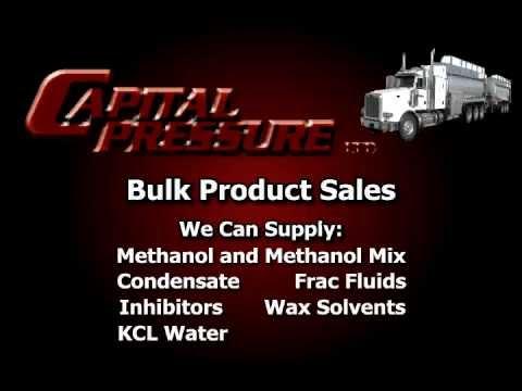 Capital Pressure Bulk Product Sales