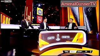 Bt Sport Full Analysis Bate 1 Vs Arsenal 0 Europa Round Of 16 (1st Legg)   Arsenalgunnertv
