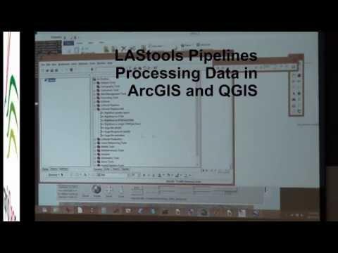 LiDAR tools, Dr. Martin Isenburg, Part 5, LAStools Pipelines in ArcGIS
