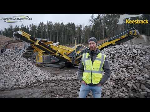 Produktpresentation Keestrack K4 - Sverige mest sålda grovsorterare!