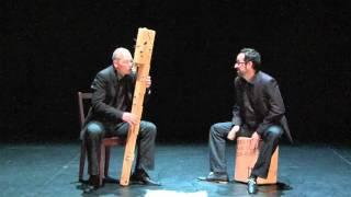 Jorge Isaac (Contrabass Recorder) & Enric Monfort (Cajón)