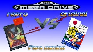 [Papa gaming] Guide, tuto: Les jeux Megadrive chinois (reproduction)