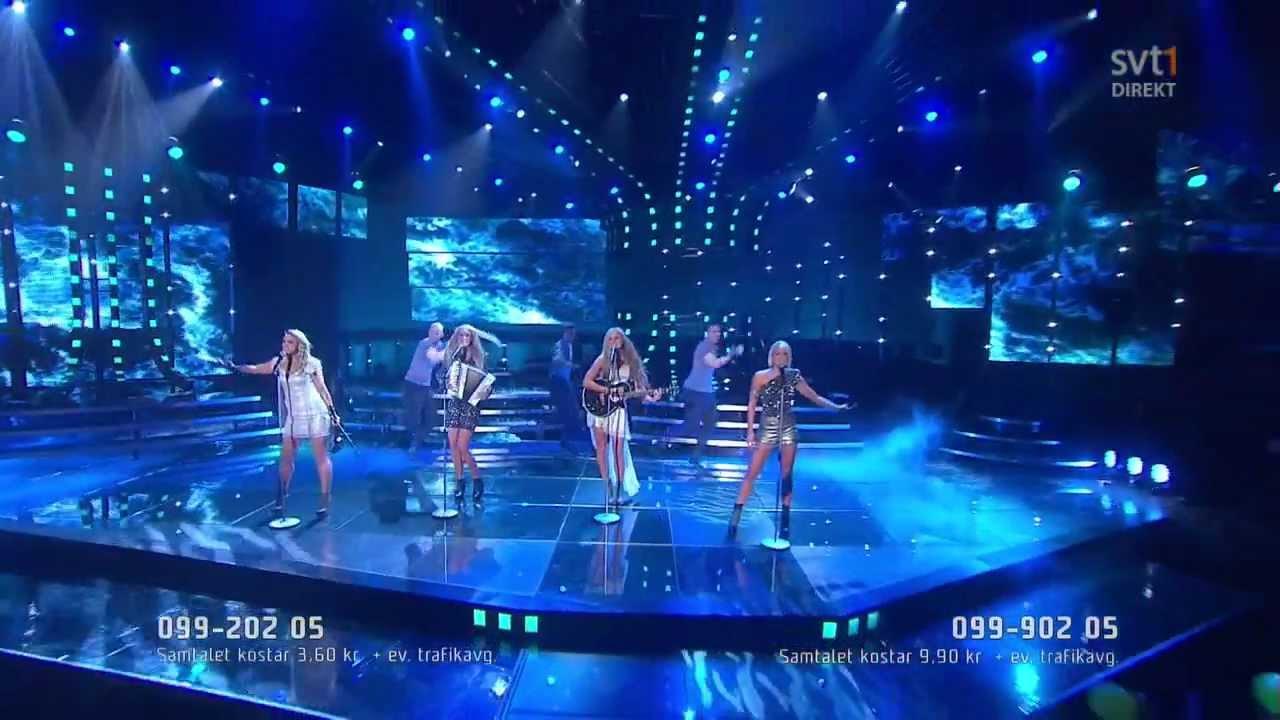 Melodifestivalen Deltävling 2: Stormande Hav (Melodifestivalen 2012