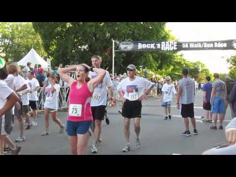Merrimack County Savings Bank Rock 'N Race 2012 Finish part 1