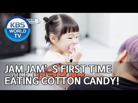 Jam Jam's First Time Eating Cotton Candy! [The Return Of Superman/2019.11.03]