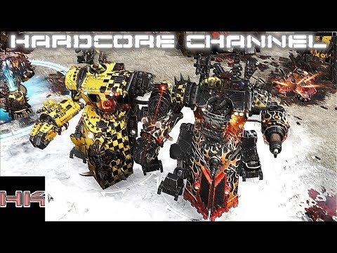 Warhammer 40,000: Dawn Of War 3 - Multiplayer =28= Все кончено орк!