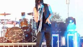 """Hinder """"2 Sides of me"""" Moondance Jam 07/19/2012 Walker MN"""