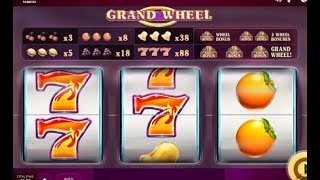 Machine à sous à 3 rouleaux GRAND WHEEL 🎰 🎰 🎰 Qui va voler qui ??? LOL 👙