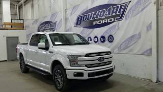 2018 Ford F-150 SuperCrew Lariat Sport 502A W/ 5.0L V8 Overview | Boundary Ford