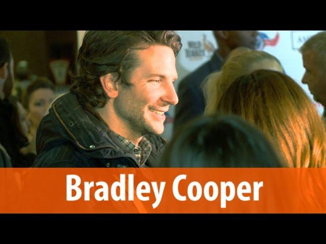 Bradley Cooper Ignores Reporter