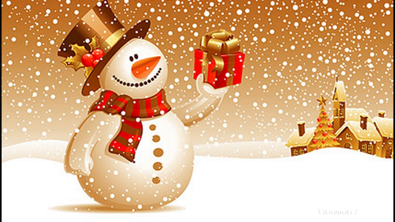 Видео открытки новый год