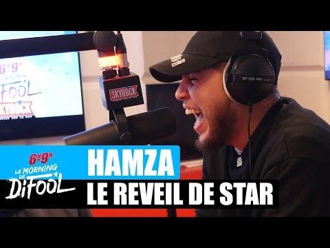 Youtube: Hamza – Le réveil de star #MorningDeDifool